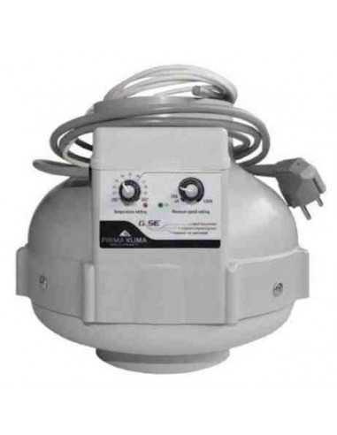 Extractor PK Control Temperatura 125 mm - 400 m3