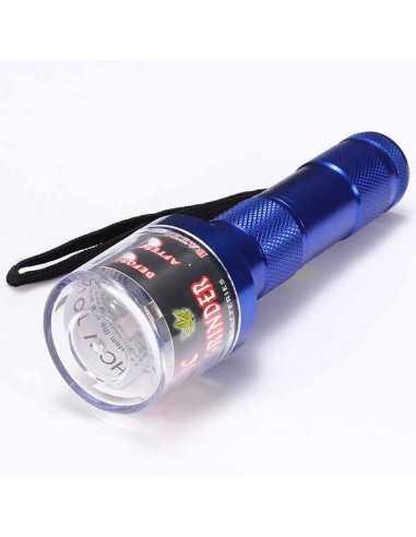 Grinder Eléctrico Aluminio Linterna (sin pilas)