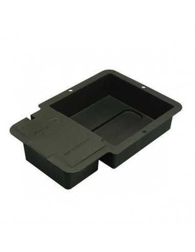 1 Pot Base tray & Lid Black Autopot